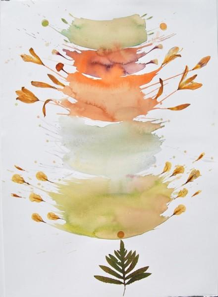 Marilla Palmer, Bursting Petals, 2015