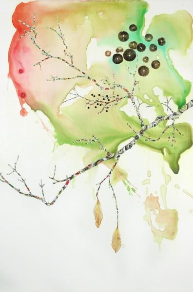 Marilla Palmer, Dangling Iris, 2013