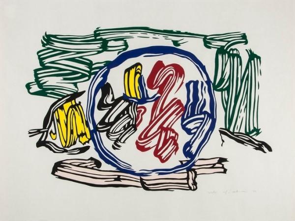 Roy Lichtenstein, Apple and Lemon, 1983