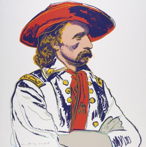 Andy Warhol, General Custer, 1986