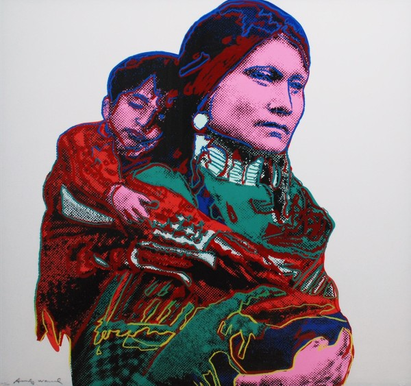 Andy Warhol, Mother & Child, 1986