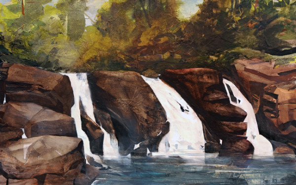 Mariella Bisson, A Waterfall in Three Parts