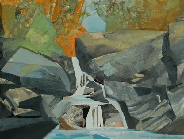 Mariella Bisson, September Day at the Waterfalls