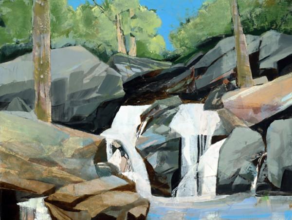 Mariella Bisson, Laughing Creek Falls