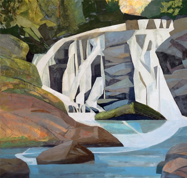 Mariella Bisson, Arc Reflected, East Fork Falls NC