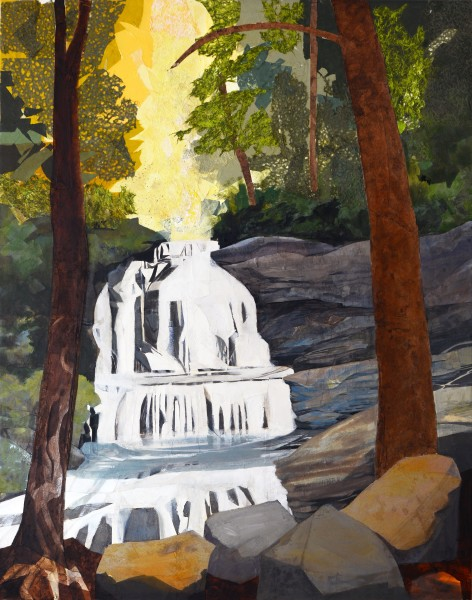 Mariella Bisson, Pearsons Falls, Sunlit