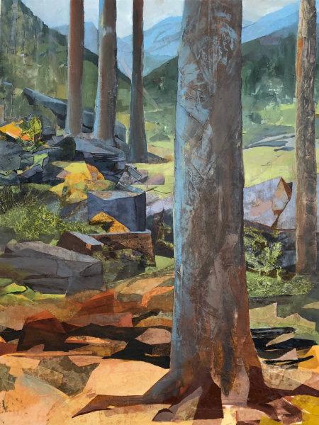 Mariella Bisson, 5 Trees, 5 Mountains