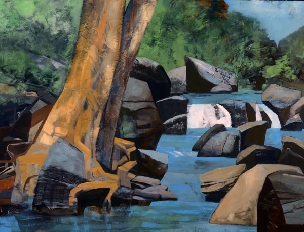 Mariella Bisson, The Oak, The Creek