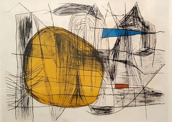 Maltby Sykes (1911 - 1992), Maine Coast, Yellow Sun