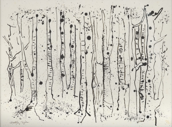 Maltby Sykes (1911 - 1992), White Birches