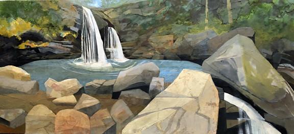 Mariella Bisson, Grotto Falls