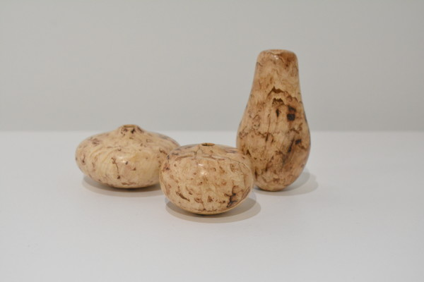 David Ellsworth, Hickory Burl Miniature Spirit Forms