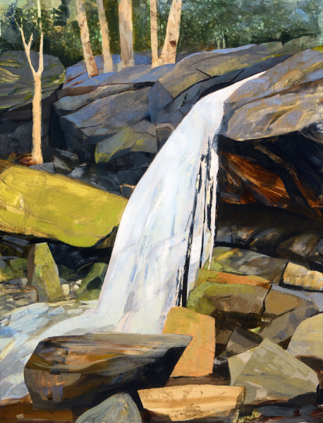 Mariella Bisson, Otter Falls, North Carolina