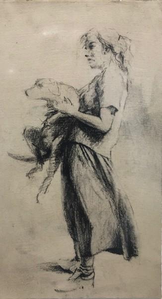 Paul Sattler, Girl and Dog