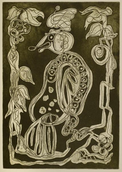 Maltby Sykes (1911 - 1992), Fabulous Bird