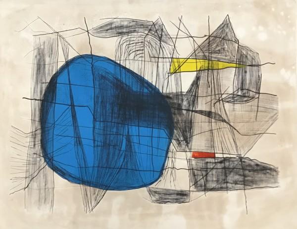 Maltby Sykes (1911 - 1992), Maine Coast, Blue Sun