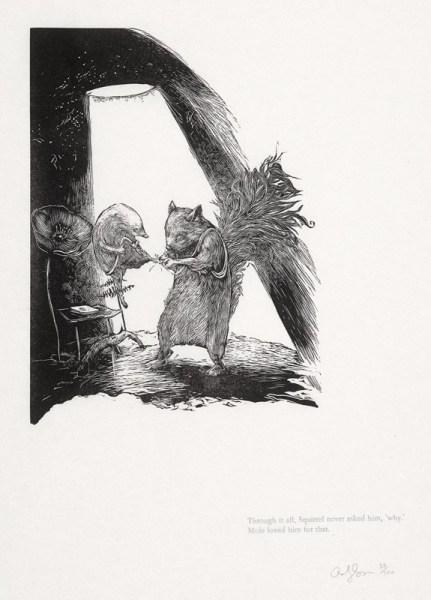 Andy Farkas, Mole and Squirrel