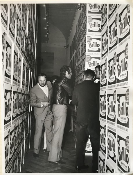 Andy Warhol, Brillo Boxes at Stedelijk Amdterdam 1968, 1968