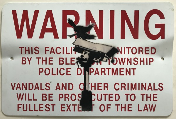 Banksy, Angry Crows / CCTV Birds (reserved), Ca. 2000