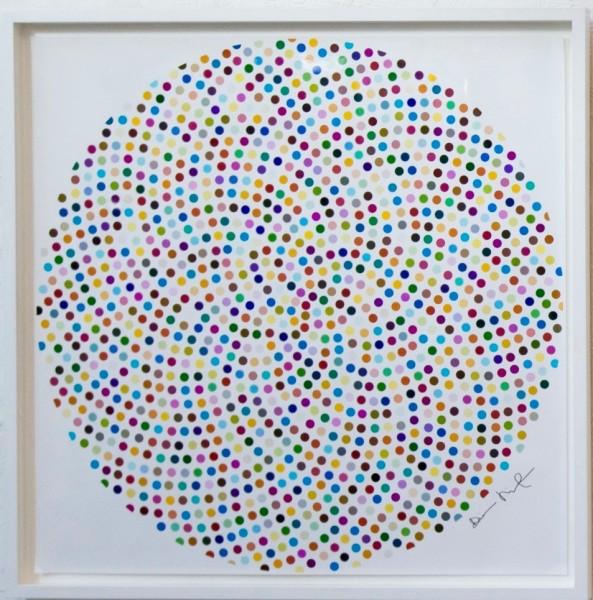 Damien Hirst, Valium, 2000 (not for sale)