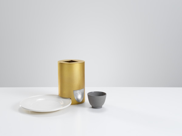 Julian Stair & Simone ten Hompel, Container, Plate, Cup, 2018