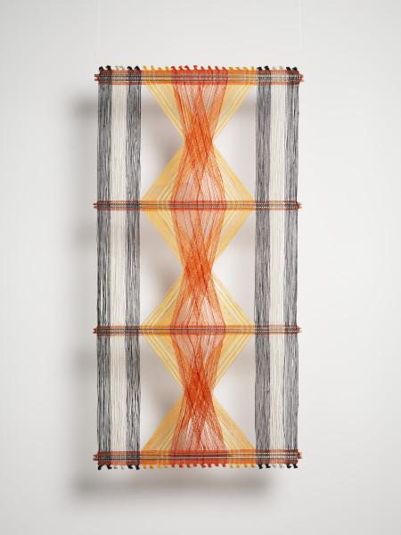 Peter Collingwood, Orange, Yellow and Black Macroguaze