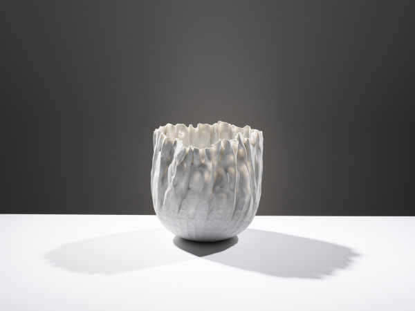 Daniel Fisher, Small Porcelain Flame, 2018