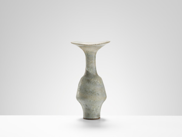 Lucie Rie - Vase with flared rim, c.1985