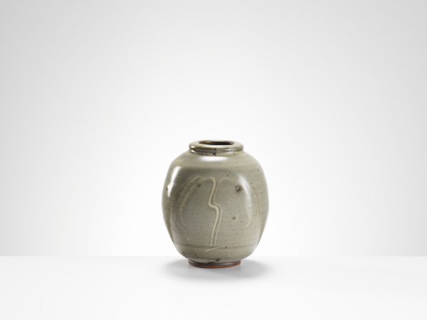 Bernard Leach, Vase with Willow Design
