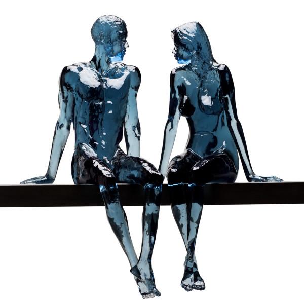 Bruce Denny, Resolute & Flirtatious (petrol blue)