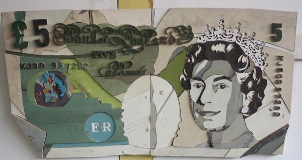 Diederick Kraaijeveld, 5 Pound Note