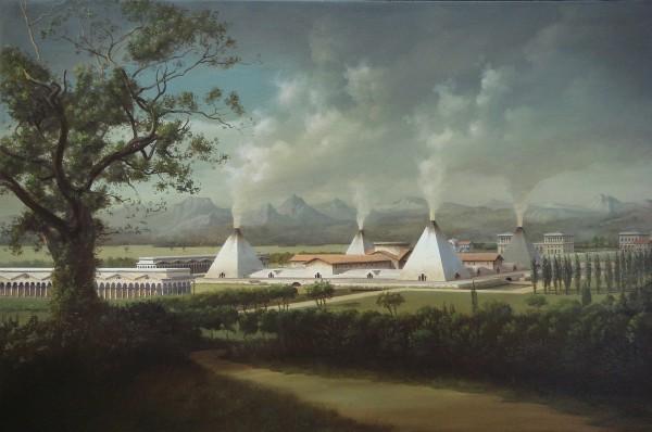 Carl Laubin, Ledoux Landscape