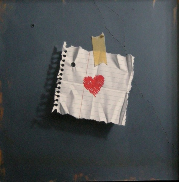 Otto Duecker, My Heart (blue)