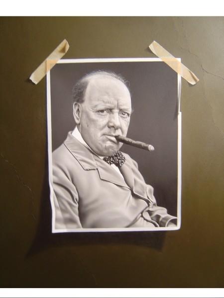Otto Duecker, Young Winston Churchill