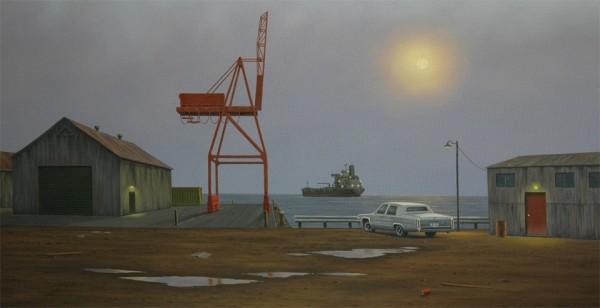 Simon Harling, Harbor in the Mist 2011