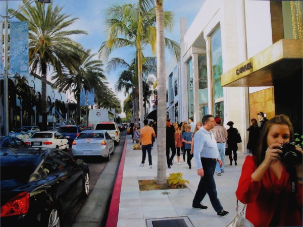 Romain E., Shopping on Rodeo Drive