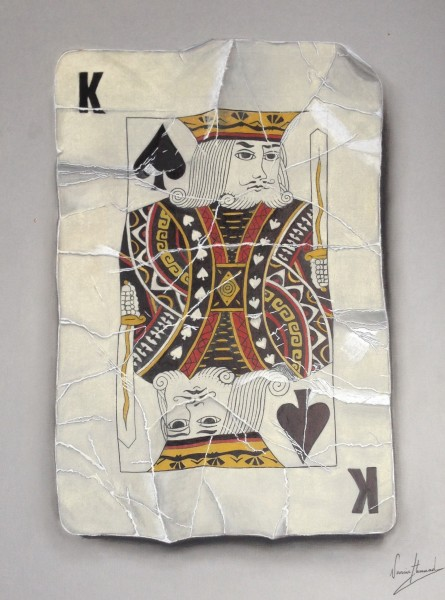 Nourine Hammad, Playing Cards (King)