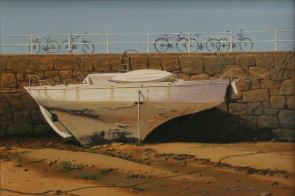 Carl Laubin, Boat in St. Aubin Harbour