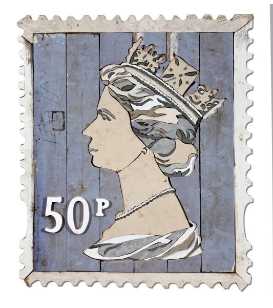 Diederick Kraaijeveld, 50p Stamp