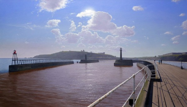 Steve Whitehead, View of Whitby