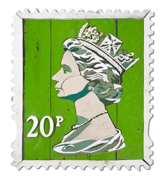 Diederick Kraaijeveld, 20p Stamp