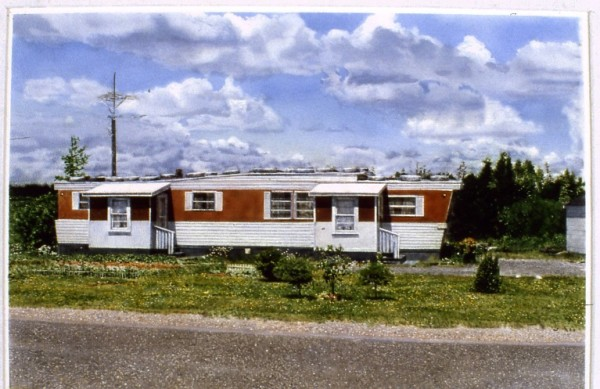 John Salt, Mobile Home with Portches, 1977