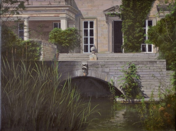 Carl Laubin, The Canal, Gledstone Hall
