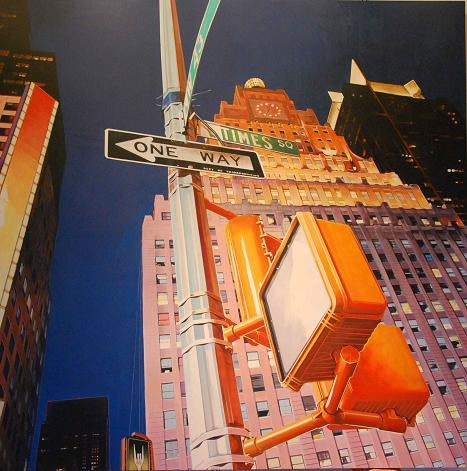 Peter Rocklin, Times Square - One Way
