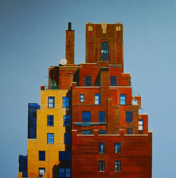 Peter Rocklin, Greenwich Village Rooftops