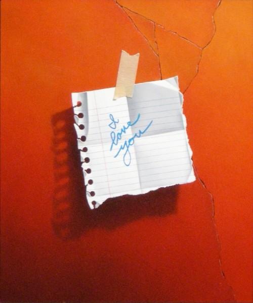 Otto Duecker, I Love You Note (orange)