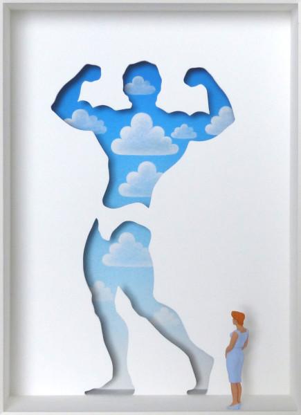 Volker Kuhn, Homage to Magritte, Fatamorgana
