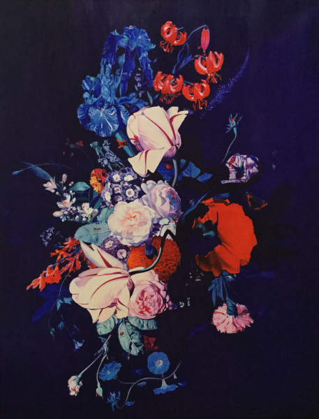 Sarah Sibley, Flowers Without Vase