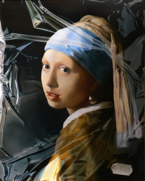Tjalf Sparnaay, Girl with the Pearl Earring '09