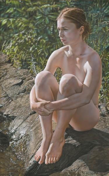 William Lazos, Woman on Rock